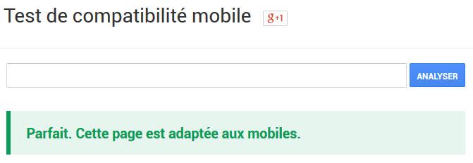 Test de comptabilité mobile